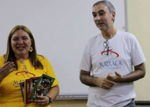 Silen e João Carlos Raposo em atividade